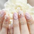 キルティングネイル,ピンク,可愛い,上品,ピンク