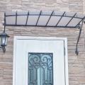 アイアン製,キャノピー,特注,自宅ネイルサロン,玄関,ひさし