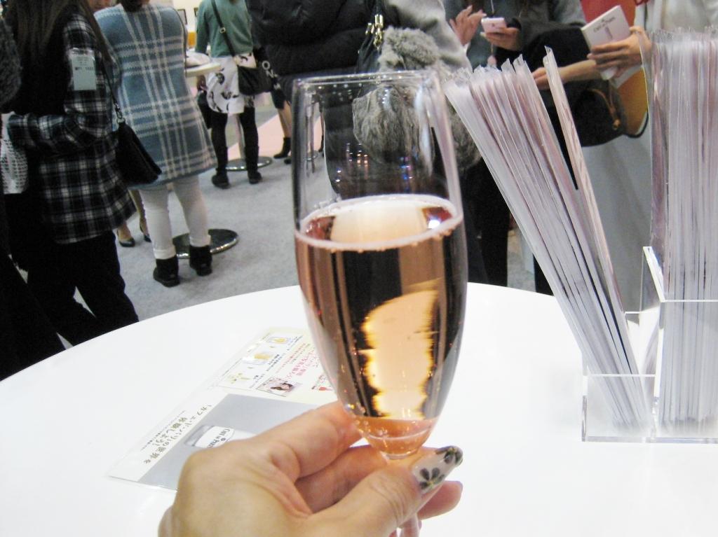 ワイン,ネイルエキスポ参戦2014年