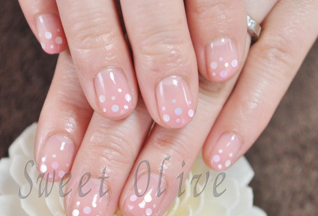 ホワイトホロ,きらきら,可愛い,ピンク,グラデーション,春ネイル