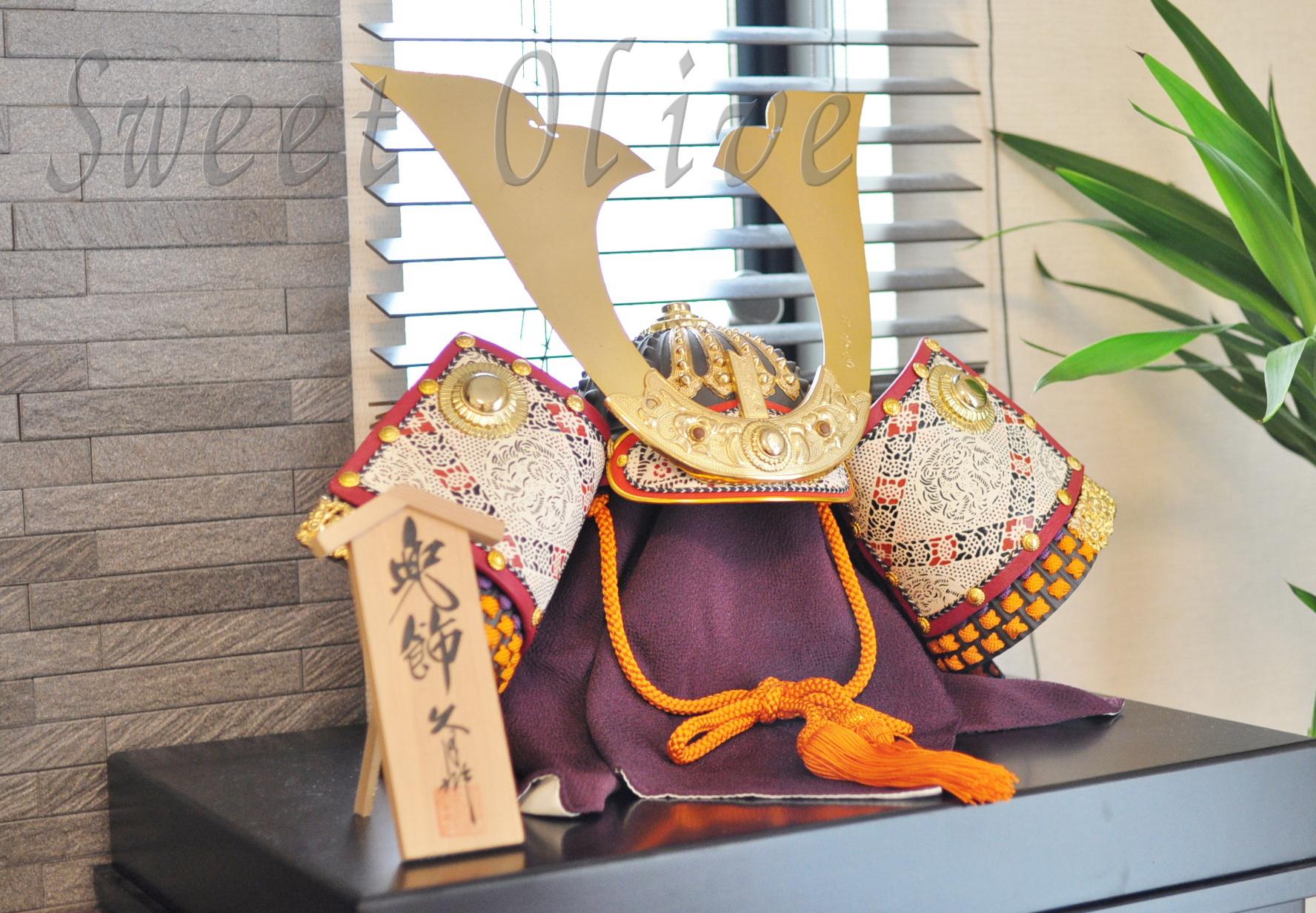 兜,かぶと,五月人形,自宅ネイルサロン,飾り