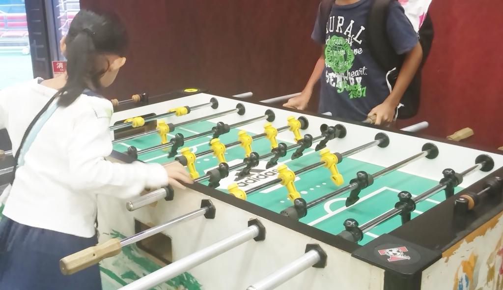 サッカーゲーム,夏休み,サッカーミュージアム