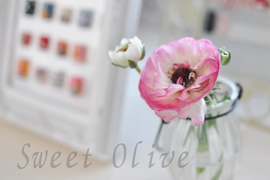 自宅ネイルサロン,お花,フラワーアレンジメント