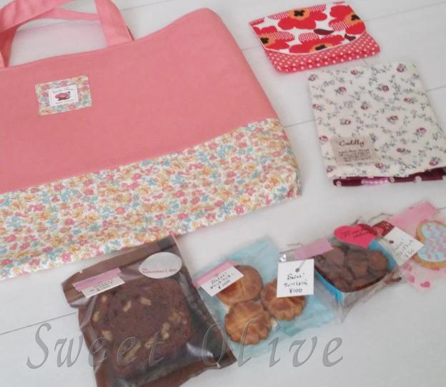手作り市,富士見ヶ丘駅,布小物,手作りお菓子