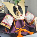 五月人形,兜,自宅ネイルサロン