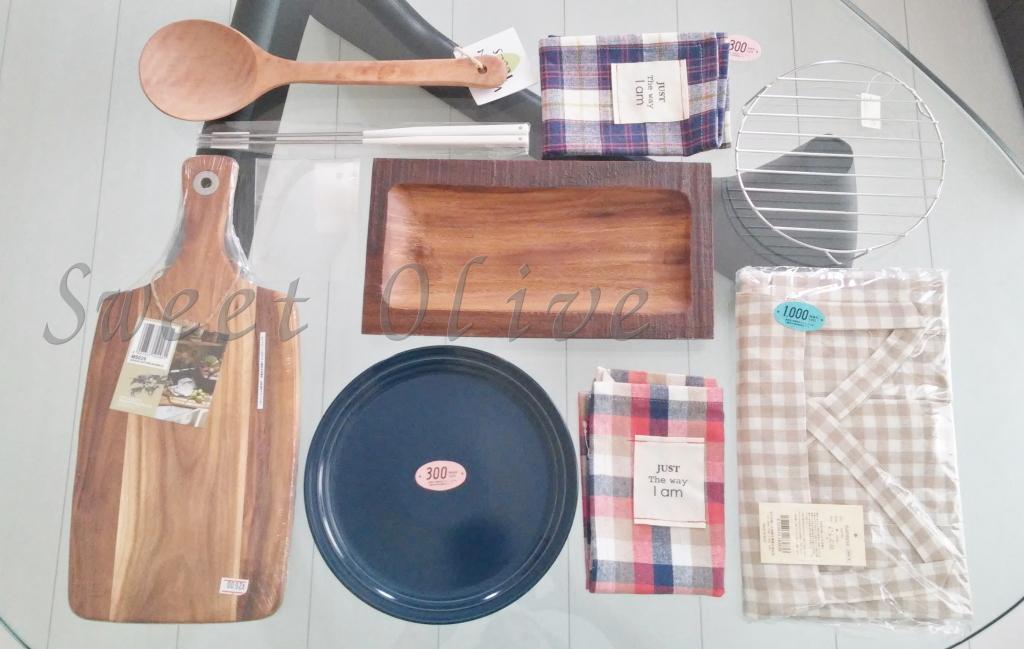 雑貨,木の食器,ランチョンマット.エプロン,吉祥寺雑貨,自宅ネイルサロン