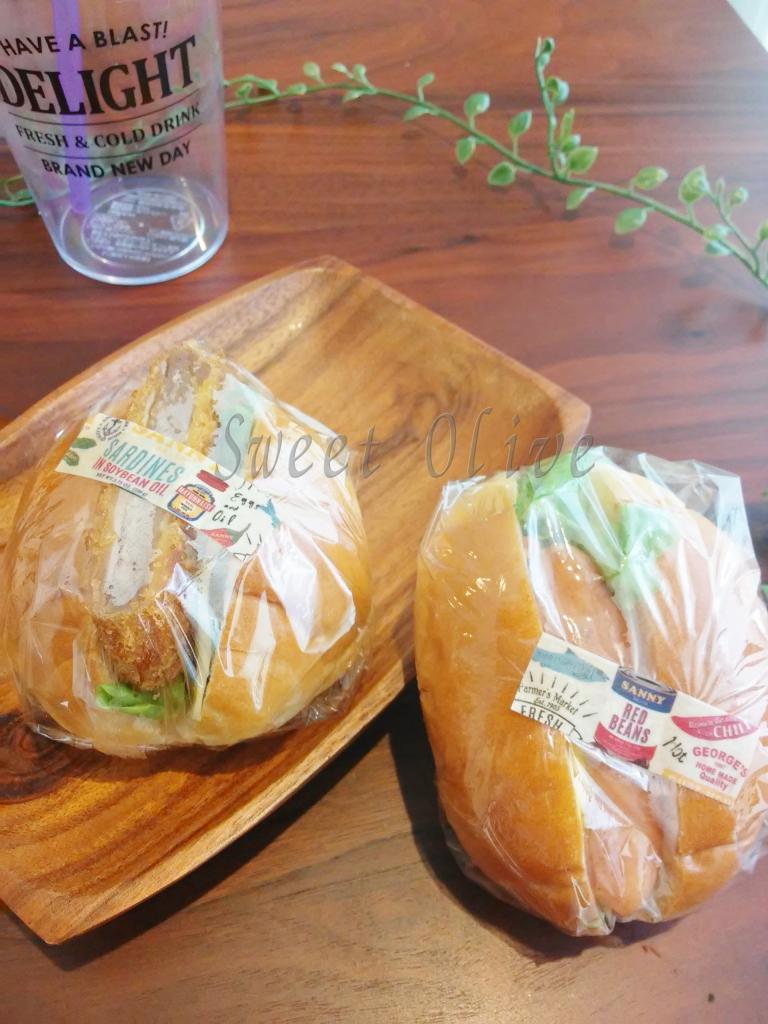 ロールパンサンドイッチ,ホットドッグ,塾弁当,自宅ネイルサロン