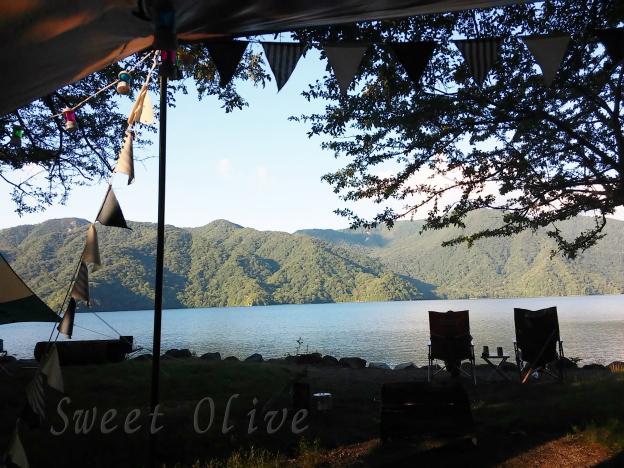 中禅寺湖,菖蒲ガ浜キャンプ場,夏休み,自宅ネイルサロン