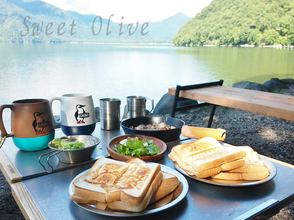 チャムスホットサンド,朝食,キャンプ,おしゃれ,自宅ネイルサロン