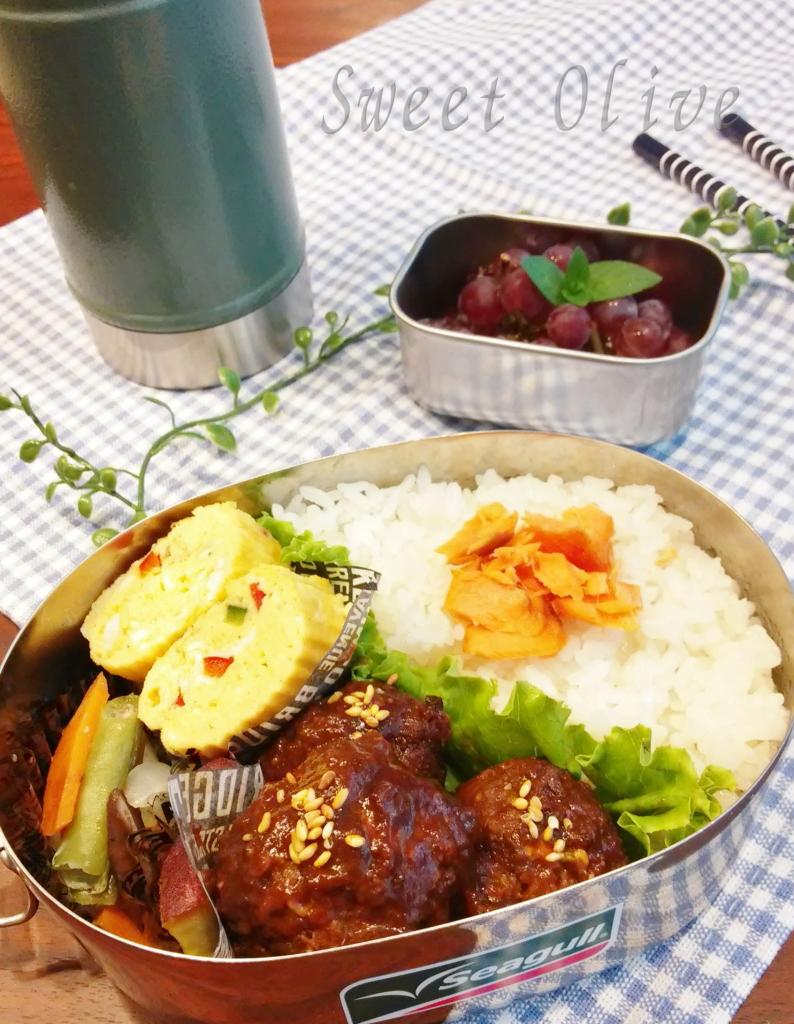 コストコ,肉団子,お弁当,自宅ネイルサロン